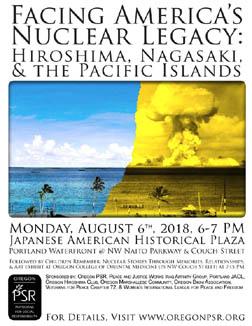 [Hiroshima 2018 flyer]