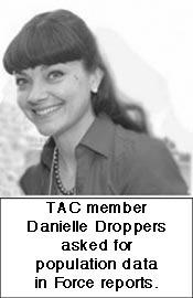 TAC member Danielle Droppers
