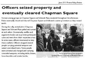 officers seize property