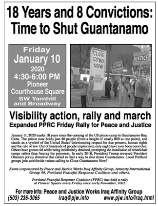 [Guantanamo 18 Years Later flyer]