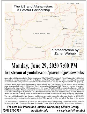 [Zaher Afghanistan June 2020 flyer]